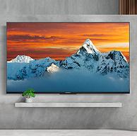 4K超清全面屏+远场语音:70英寸大屏 创维 智能液晶电视70A9