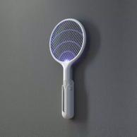 灭蚊拍灭蚊灯两用!Qualitell 质零 ZS9001 电蚊拍 带底座 白色