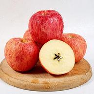 黄金产地直发,带箱10斤 西域美农 大漠冰糖心苹果 中大果70-80mm