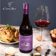 Cono Sur 柯诺苏 自行车限量版 黑比诺干红葡萄酒 750mlx4件