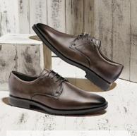 ECCO 爱步 Calcan卡尔翰系列 男士真皮正装鞋