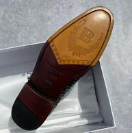 买手甄选团、纯手工制、牛皮鞋底:Balmain巴尔曼 男士皮鞋