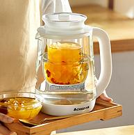 持平史低!24h预约定时,可蒸可煮:志高 全自动小型玻璃养生壶
