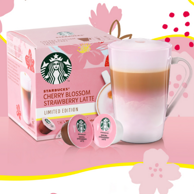 Starbucks 星巴克 限定发售 多趣酷思·樱花草莓拿铁胶囊咖啡 12粒x2盒