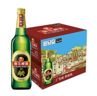 珠江啤酒 12度 经典老珠江啤酒 600mlx12瓶