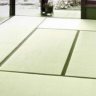 日本进口草种,1.8m 淘宝心选 高档密经天然蔺草席 榻榻米凉席
