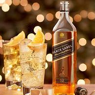 新低!英国原产,陈酿超12年:700ml 尊尼获加 中端黑牌调配威士忌