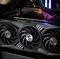 今晚0点,手速快的上:MSI微星 魔龙 GeForce RTX 3070 Ti GAMING X TRIO 8G 超频版 旗舰款 电脑显卡