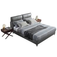 18日0点:AIRLAND 雅兰 意式轻奢真皮软床 +任意床垫