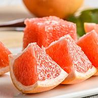 南非进口,坏果包赔:中果4斤 百果园 A级新鲜红心西柚 8个