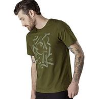 值哭!Arc'teryx 始祖鸟 Scramble 男士印花短袖T恤