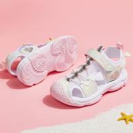 Belle 百丽 女童中大童包头软底沙滩凉鞋 两色