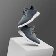 2021新款 ECCO 爱步 Cs20 Hybrid 男士真皮休闲鞋