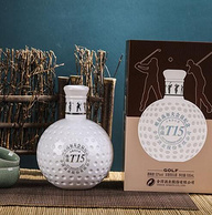 明星高尔夫会员纪念版,500ml 舍得 珍藏T15 52度浓香型白酒