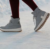 反季特价!ECCO 爱步 Solice赛冬系列 女士Gore-Tex®牦牛皮抓地防滑雪地靴
