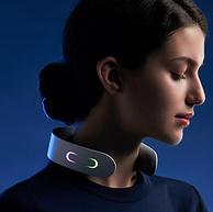 史低!EMS科技,肌肉自己动起来,语音播报:网易严选 家用智能颈椎按摩器