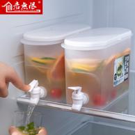 食品级、耐冷热、防滴水龙头:香妃 大容量冷水壶 3.5L