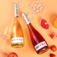 CCTV展播品牌,低度微醺:750ml 慕拉 莫斯卡托白葡萄酒 起泡酒