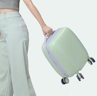猫超次日达,手提轻便不费劲:15寸 淘宝心选 小贝系列 旅行箱 万向轮行李箱