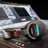 千元内无敌手,王菲录音同款:Sony索尼 经典封闭式头戴监听耳机MDR-7506