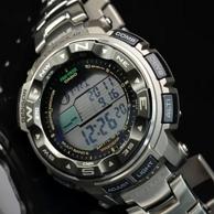 6局电波+太阳能+钛合金:CASIO 卡西欧 PRW-2500T-7CR 钛合金登山表 1619.59元包邮