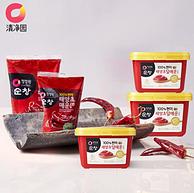 韩国进口 清净园 淳昌石锅拌饭微辣酱500g 21元包邮