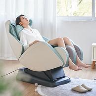 仿生按摩,自带USB充电:Panasonic松下 零重力太空舱 小户型多功能按摩椅