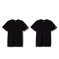 亚马逊销冠,纯棉防臭:2件 Champion冠军 全棉短袖T恤
