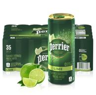 低至2.2元/罐!perrier 巴黎水 青柠味气泡水 250mlx35罐x3件