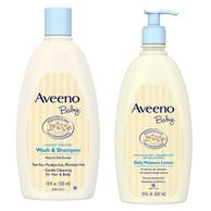 Aveeno 艾惟诺 婴幼儿洗发沐浴二合一 532ml+保湿润肤乳液 532ml