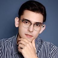 11g超轻不压鼻梁,依视路大厂镜片:乐申 复古全框眼镜+1.56防蓝光镜片