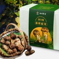 出口级核心产区、6-8cm:500g 云南白药  云南野生鲜松茸礼盒
