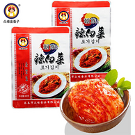 众缘金香子 东北特产辣白菜 500gx3袋