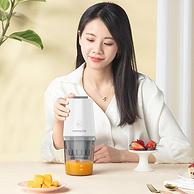 随时喝原汁,自动分离果渣,出汁率90%:九阳 便携榨汁机 原汁机 Z2-DS73