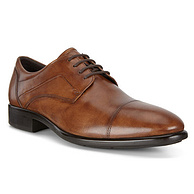 ECCO 爱步 Citytray适途系列 男士系带正装鞋
