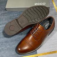 底王+shockpoint小红点科技!ECCO 高端男士正装皮鞋 两色 团购369元包邮(吊牌价1999元+)