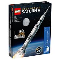 LEGO 乐高 ideas系列 92176 NASA 阿波罗计划 土星5号运载火箭 617元包邮