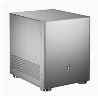 今晚0点,全铝壳,支持高塔散热+长显卡:JONSBO乔思伯 V4 MATX机箱 银色