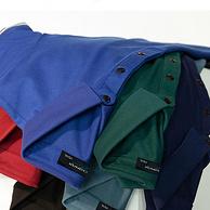 商场同款,双面梯级珠地棉,体感降温明显:卡丹路 男士 棉质混纺POLO衫