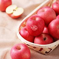 新低!Goodfarmer 佳农 烟台红富士苹果 5kgx3件+牛油果2粒