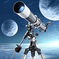 GPS智能找星星,最高1125倍:Celestron星特朗 80DX DELUXE豪华版 天文望远镜