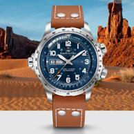 29日0点:HAMILTON 汉米尔顿 卡其航空系列 H77765541 男士自动机械手表