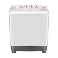京东代下单、超大容量、洗脱分离!金帅12公斤 半自动双缸 双桶洗衣机