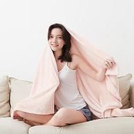 650高克重,锁住温暖:淘宝心选 梦乐园系列超细纤维毛毯 127x152cm