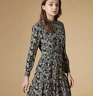 蚕丝面料:Hazzy's 哈 吉斯2021年 连衣裙