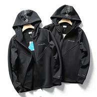 奥米技术、防风防水:哥伦比亚 21年新款户外秋冬季户外软壳冲锋衣