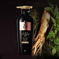 韩国进口,人参精华固发防脱:400mlx2瓶 Ryo吕 莹韧滋养固发洗发水