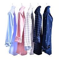 4.9分,柔韧牛津纺,长短袖都有:Vstarry 男士 精梳纯棉衬衫