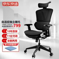 28日22点、新品发售:J.ZAO 京东京造 Z9 Smart人体工学电脑椅