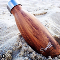 明星同款、木质纹理、亚马逊在售!Swell 保温杯 500ml
